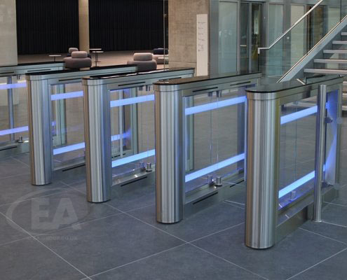Sweeper Fast Lane Turnstiles