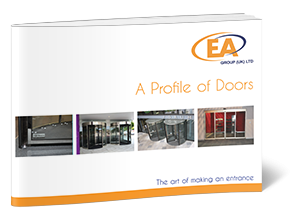 A profile of revolving doors brochure front cover