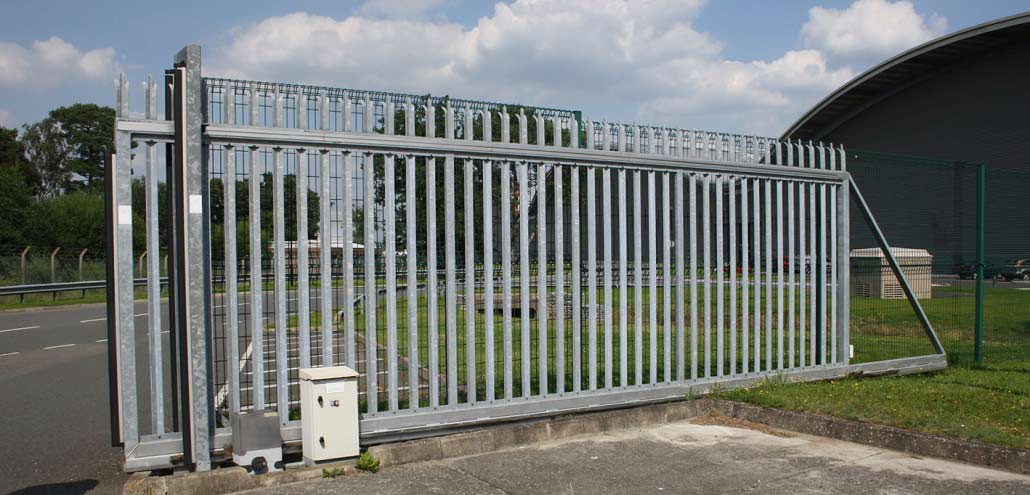 A Commercial Sliding Automatic Gate by EA Group