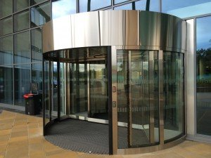 & EA high capacity doors open the new Inverness College