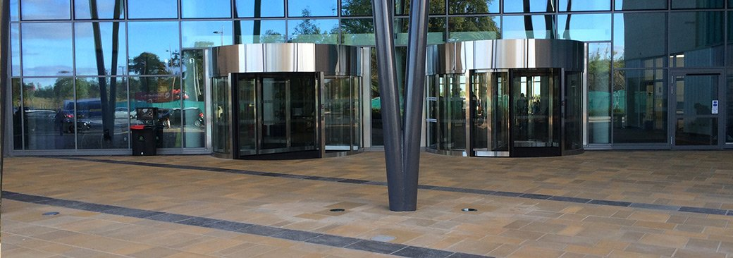 single entrance door all glass a 3 security