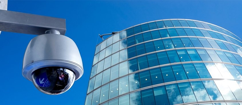 CCTV camera system installed in Surrey by EA Group UK Limited