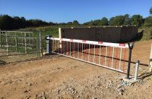 EA Group provide the green barrier solution at North Park Quarry