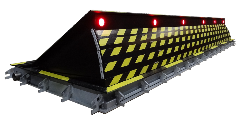 Shallow Surface Mounted Road Blocker