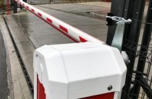 EA Group supply and install an 8.5 metre Automatic Security Barrier for Britannia Movers International