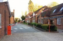 EA Group supply the FAAC 640 barrier to Cheam School enhancing their on-site vehicular safety
