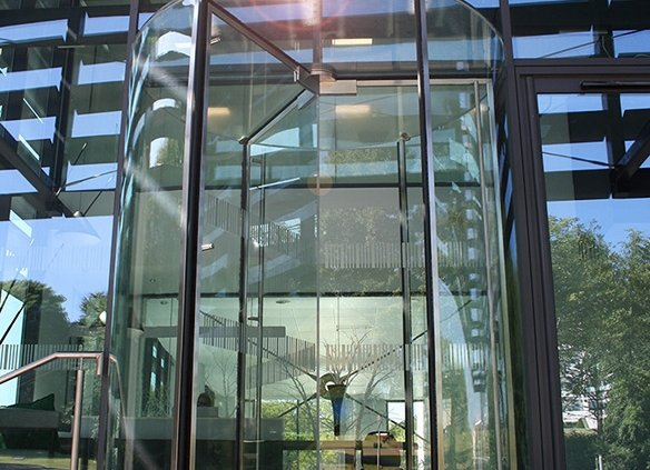 f98e8af69cf EA Group launch a British Made All Glass Revolving Door – EA Group UK
