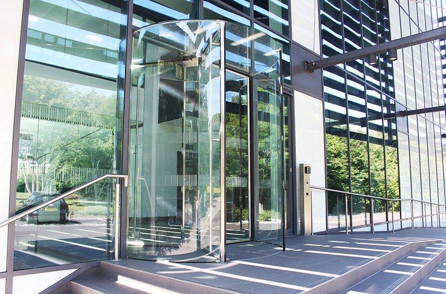 All Glass Revolving Doors Ea Group Uk