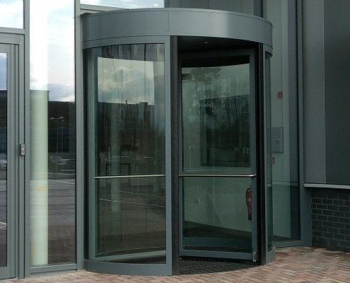Framed Revolving Door