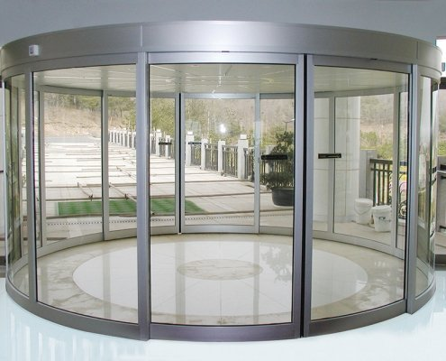 EA Curved Sliding Doors which are also referred to as circular sliding doors