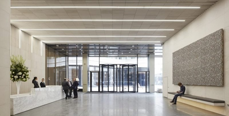 Our 4 Metre Tall Revolving Doors Are Installed At St James
