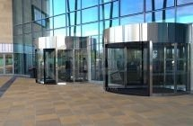 EA high capacity doors open the new Inverness College