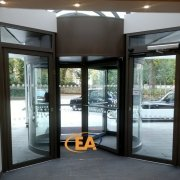 Revolving Door at the Marriot Hotel