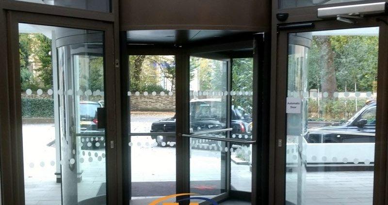 Revolving Door at the Marriot Hotel