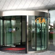 EA High Capacity Revolving Door installed at TAG Farnborough Airport