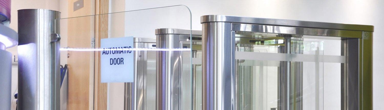 EA Glass Swing Gate Turnstile