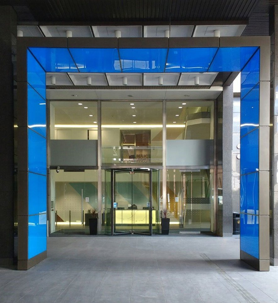 EA Revolving Door installed at St Magnus House London