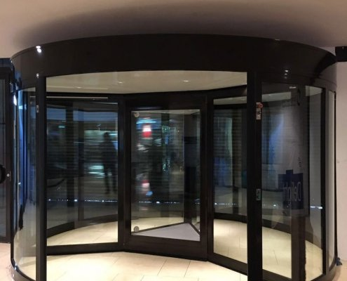 EA High Capacity Revolving Door, 3 Wing model