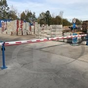 EA Security Barrier, 8 meters wide installed at Keyline