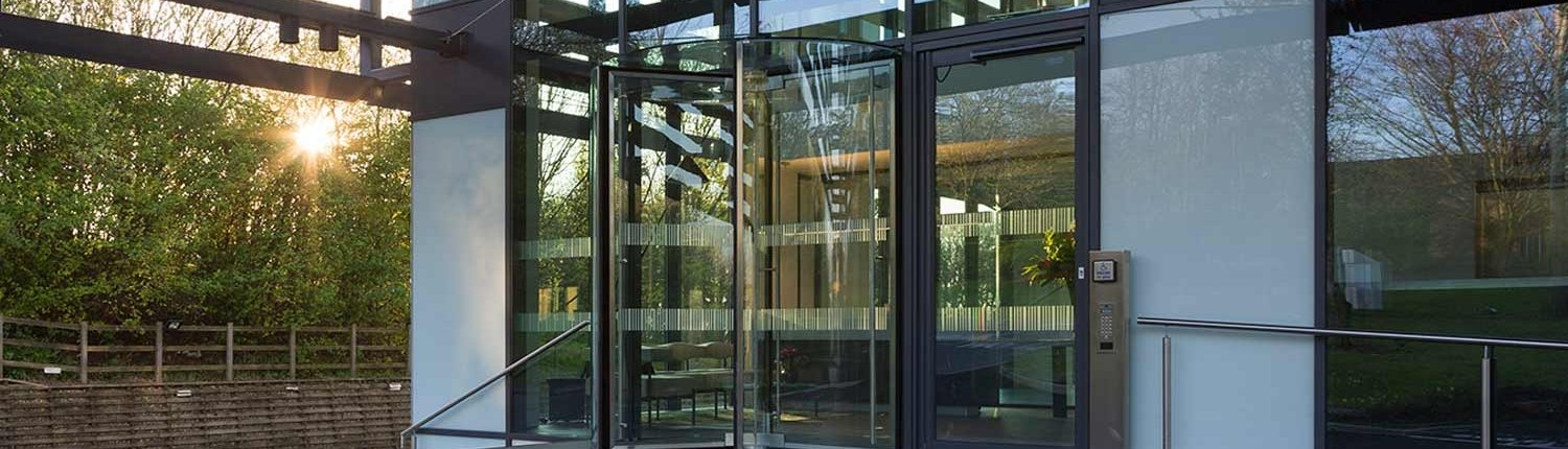 Revolving Door made in the UK by EA Group