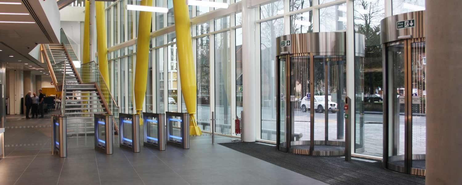 Automatic Door and Turnstile installation by EA Group