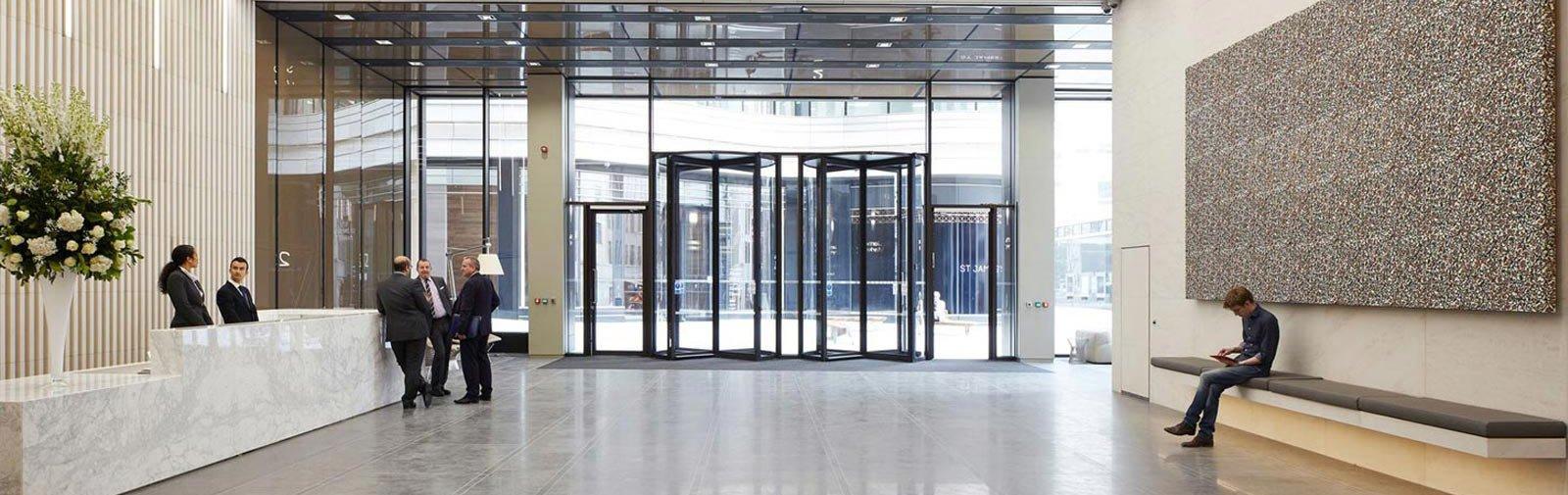 Revolving Door entrance solution carousel
