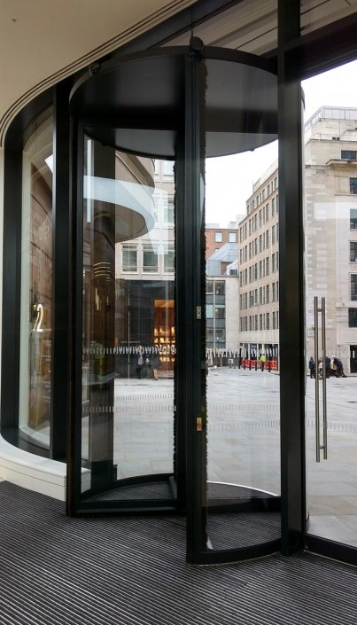 Bespoke 3.9m Tall Revolving Door