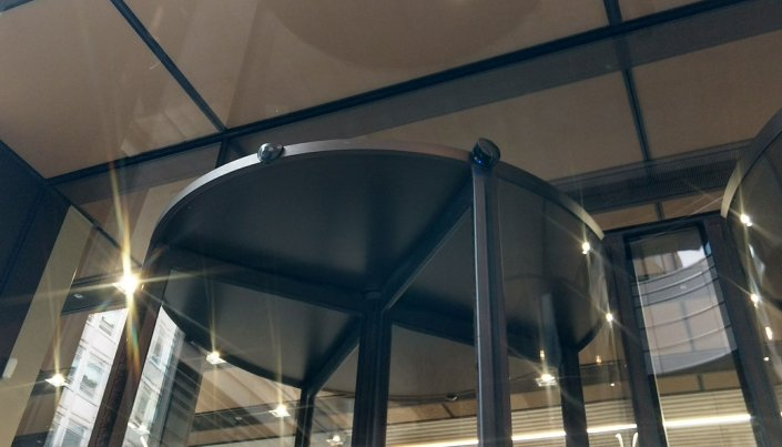 Bespoke 3.9m High Revolving Door