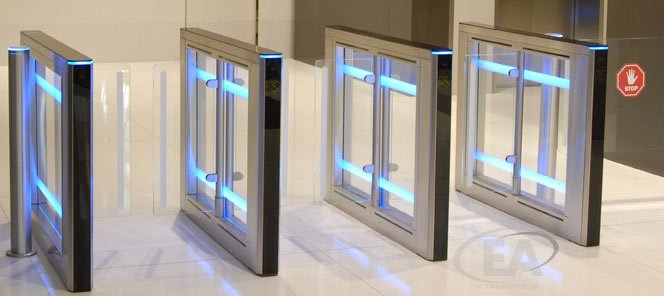 EA Swing Lane-S Speed Gate Turnstiles