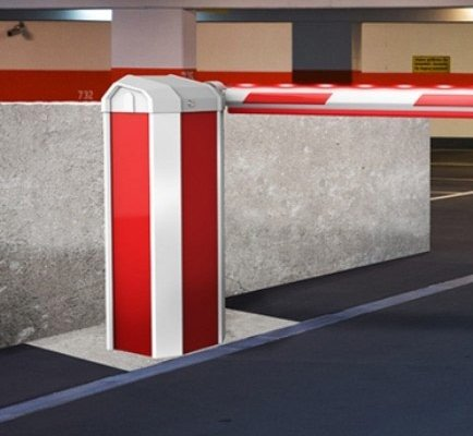 6000XHD Automatic Barrier in a car park